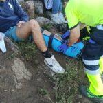 Rescatan a siete menores de edad, uno de ellos accidentado, que hacían senderismo en El Real de San Vicente