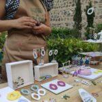 El Jardín de San Lucas acoge este sábado la última edición de su Mercado de Artesanía