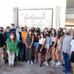 El IES Padre Juan de Mariana ya cuenta con su nuevo mural de cerámica gracias al trabajo de 60 alumnos durante tres cursos escolares