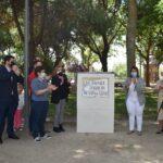 El poeta Joaquín Benito de Lucas ya es recordado con su propio parque en Talavera de la Reina