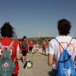 Voluntariado de Cruz Roja recoge más de 200 kilos de basura en espacios naturales de Madridejos y Villacañas