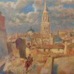 'Toledo my love', más de 80 obras para conocer la figura del pintor polaco Marian Kratochwil