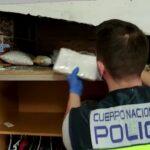 Una vivienda de la Sagra toledana, «centro de operaciones» de una organización criminal que distribuía cocaína por toda España