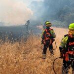 Se declara un incendio forestal en El Casar de Escalona