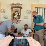 Brígida de Vega Revuelta se convierte en la segunda vecina centenaria de Cabañas de Yepes