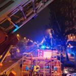 Provocado al menos uno de los dos incendios sofocados esta noche en el Polígono de Toledo