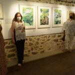 De Tokio a Melque: hojas y nenúfares en la exposición 'Xilografía, procesos experimentales', de Gema Climent