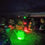 La 'I Noche de la Regadera' reúne a más de treinta personas para recuperar la Cañada Real de Torrijos