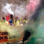 Toledo vuelve a ser el escenario de las protestas de Geacam: «Somos menos y tenemos que seguir sacando el mismo trabajo»