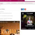 Retiran de la web del Ayuntamiento de Toledo y del promotor el cartel del concierto de Zahara