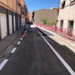 Reabre al tráfico la calle de la Fuente del barrio de Santa Bárbara de Toledo tras la mejora del pavimento