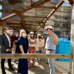 Las nuevas fachadas que dejan a la residencia 'Virgen del Prado' de Talavera sin jardín vertical se terminarán en junio de 2022