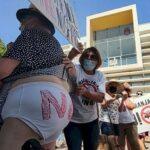 """Colectivos contra las macrogranjas: """"Nuestras reivindicaciones serán cada vez más agresivas y duras"""""""