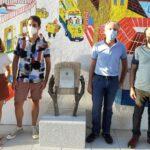 Un mural para homenajear al personal esencial durante la pandemia