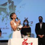 La medallista olímpica Sandra Sánchez fue homenajeada en la Gala regional de karate que se celebró en Torrijos