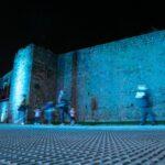 Talavera luce su historia y patrimonio con el estreno de la iluminación artística de la muralla