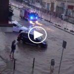 VÍDEOS | Nuevas inundaciones en Toledo tras una fuerte tormenta que acumuló medio metro de granizo en Burguillos