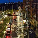 Tolón descarta que las inundaciones en el paseo de la Rosa se deban a la reciente obra del bulevar