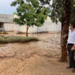 El PP culpa a Page por la situación del centro de salud de Santa Bárbara, cerrado temporalmente por los daños de la tormenta