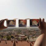 La inspiración toledana del artista Miguel Collantes, residente en Los Yébenes, llega a Italia y Grecia