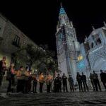 Un rezo colectivo ante la catedral de Toledo como gesto de 'reparación' tras el videoclip de C. Tangana y Nathy Peluso