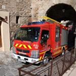 Los bomberos de Toledo ya cuentan con un nuevo camión para llegar a lugares de difícil acceso del Casco