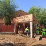 La DANA dejó «inservibles» dos aulas del IES Princesa Galiana y obligó a instalar prefabricadas