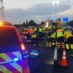 Positivo en alcohol y drogas el conductor de un vehículo en sentido contrario que provocó un accidente con seis heridos en Yuncler
